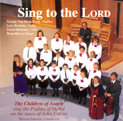CD - Sing to the Lord